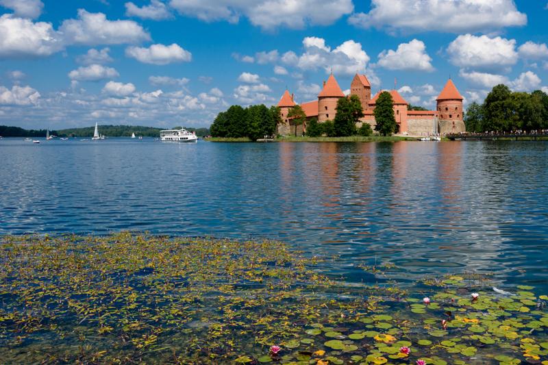 Trakai à coté de Vilnius (Lituanie) - Ete 2019
